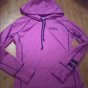 Pink workout hoodie